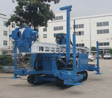 Fast Drill Speed Easy Accidence Handling Φ150—Φ400mm , 300~ 400m Deep Water Well Borehole DTH Dry Soil ,Rock , Sand Area